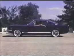 steve mcqueen mustang commercial ford mustang commercial 1966