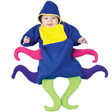 Octopus Halloween Costume Toddler Sea Creature Costumes Fish Dolphin Whales Seahorse Shark