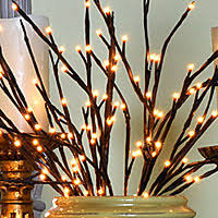 pre lit branches battery operated candles lighted branches sprays