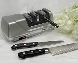 kitchen knives that never need sharpening chef schoice model 130 professional sharpening station