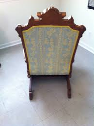 queen anne rocking chair antique victorian lake oconee classified