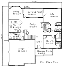 plan 22 105 houseplans com house plans pinterest first floor plan of ranch house plan 49113