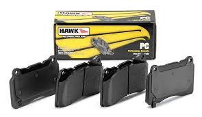 2003 honda civic brake pads hawk 2002 2003 honda civic si hawk performance ceramic front brake