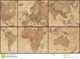 Ancient World Map by Ancient World Map U0027s Collage Stock Photo Image 56722043