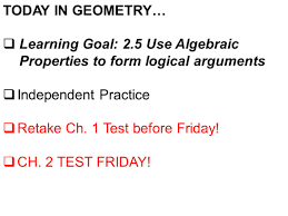 2 5 practice reasoning in algebra and geometry kigen tech