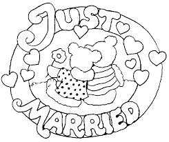 dessin mariage mariage 6 fêtes et occasions spéciales coloriages à imprimer