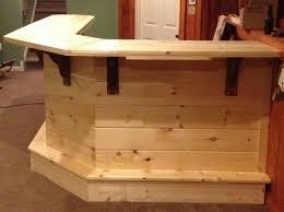 diy wood bar