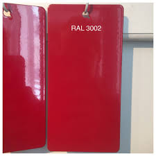 ral 3002 carmine red powder coating paint 1lb bag ebay