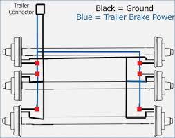 wiring diagram for trailer with electric brakes bioart me