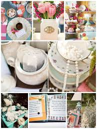 tea party bridal shower ideas tea party bridal shower inspiration board