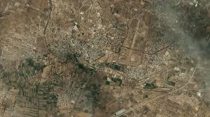 Teotihuacan Map Dlr Portal Welterbestätten Aus Dem Weltraum