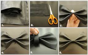 leather bow necklace images Diy leather bow necklace my bloggable day jpg