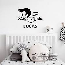 Nursery Name Wall Decals by Compare Prices On Customized Wall Sticker Baby Boy Name Online