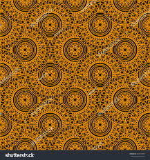 Moroccan Tile by Moroccan Tile Pattern Yellow Theme Stock Vector 284793050
