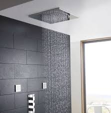 Flush Ceiling Shower Head by Raised Shower Heads For Tall People Tall Life Best Inspiration