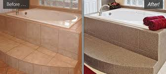 Refinishing Old Bathtubs by Refinished Bathtubs Countertops Resurfaced Tile Reglazing