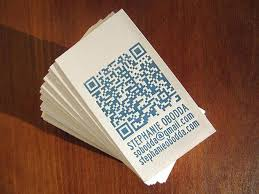 excellent qr code in business card personal cards corporate for