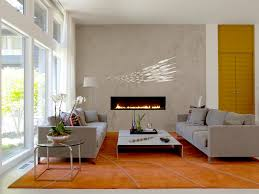 contemporary design stainless speaker modern concrete accent wall