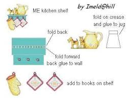 114 dolls house printables kitchenware u0026 accessories images