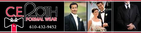 tuxedos allentown pa c e roth formal wear