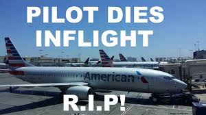 american airlines first officer dies during final approach in