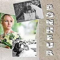 scrapbooking mariage le mariage album de pages de scrap galerie scrapbooking