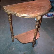 antique half moon table hand me downs pivot furniture design
