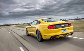 2015 ford mustang 2 3l ecoboost first ride u2013 review u2013 car and driver