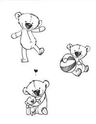 small teddy bear tattoos google search tattoos pinterest