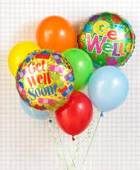 balloon delivery nc bo ty florist inc get well balloon bouquet winston salem nc