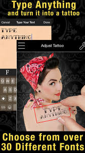 tattoo prank app tattoo you premium use your camera to get a tattoo on the app store