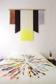Ribbon Metal Wall Decor Best 25 Yarn Wall Art Ideas On Pinterest Yarn Wall Hanging Diy