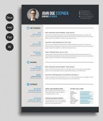 unique resume templates free eps zp wp content uploads 2016 11 free msword