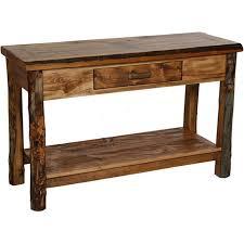 Oak Sofa Table Sofa Mesmerizing Rustic Sofa Table With Storage Diy Rustic Sofa