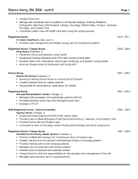 Telemetry Nurse Resume Sample by Med Surg Telemetry Resume Contegri Com