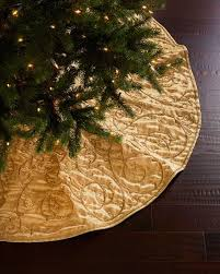 gold tree skirt sudha pennathur gold velvet christmas tree skirt