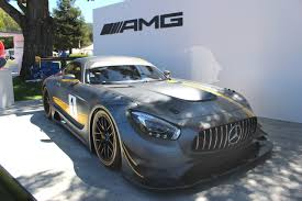 si e auto pebble mercedes amg gt3 at the quail offers pebble a taste of future