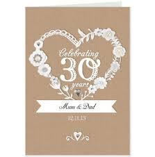 30 wedding anniversary 30th wedding anniversary gifts