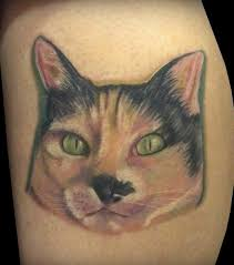 awful cat face tattoo design photo 1 photo pictures and