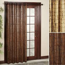 Wooden Curtains Blinds Curtains For Patio Doors Appealing Drapes Patio Doors Home Ideas