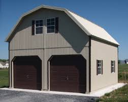 Cost To Build A Garage Apartment Amish Built 2 Story Garages Two Story Garages In Virginia