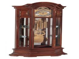 German Grandfather Clocks Cherry Wood Cabinets West Germany Grandfather Clock Antique