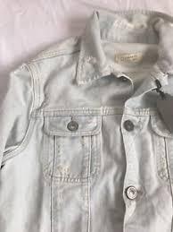 light distressed denim jacket allsaints trust denim jacket light blue wash distressed ripped x