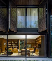 jacobsen arquitetura visually blends inside and outside with são