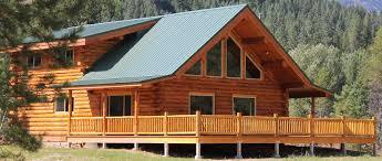 16x20 log cabin meadowlark log homes montana chalet meadowlark log homes