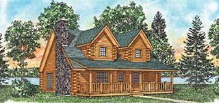 ranch log home floor plans log home floor plans