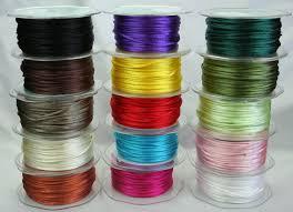 rattail cord rat cord ribbon wholesale 2mm green tara 18 colours