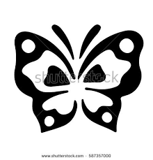 small delicate butterfly pattern stock vector 587357000