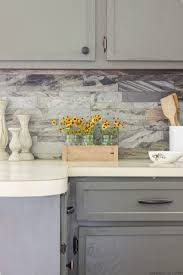 How To Install A Backsplash In A Kitchen Diy Backsplash How To Install Peel And Stick Backsplash