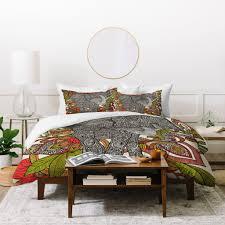 valentina ramos bo the elephant duvet cover deny designs